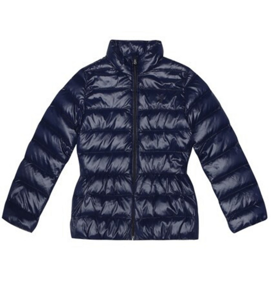 Polo Ralph Lauren Kids Quilted down jacket in blue