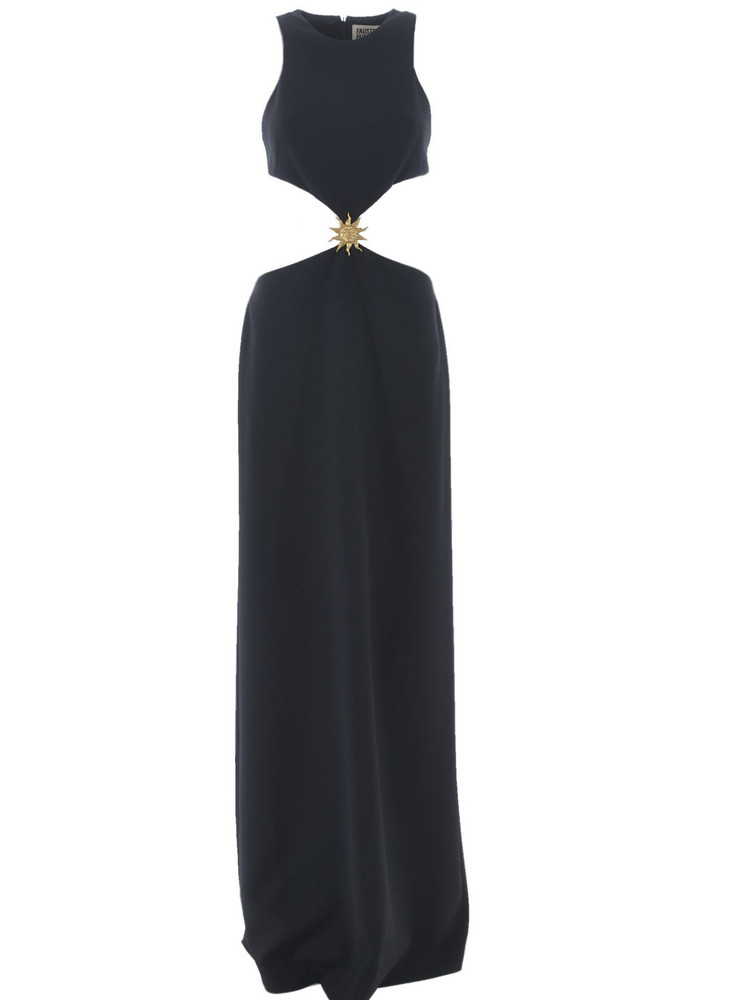 Fausto Puglisi Classy Cut-out Dress in nero