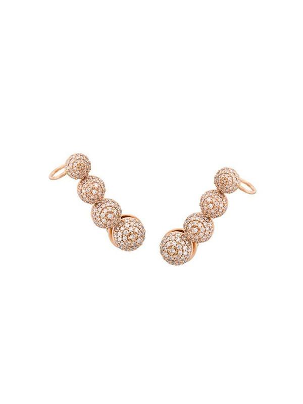 Alinka Marina diamond ear cuff in metallic