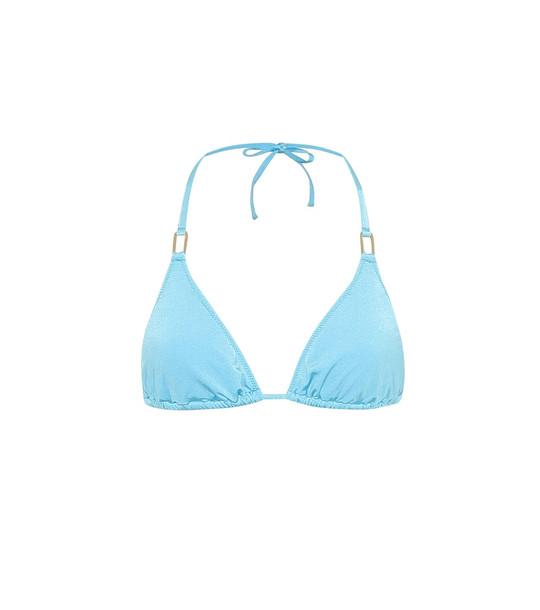 Melissa Odabash Exclusive to Mytheresa – Cancun bikini top in blue