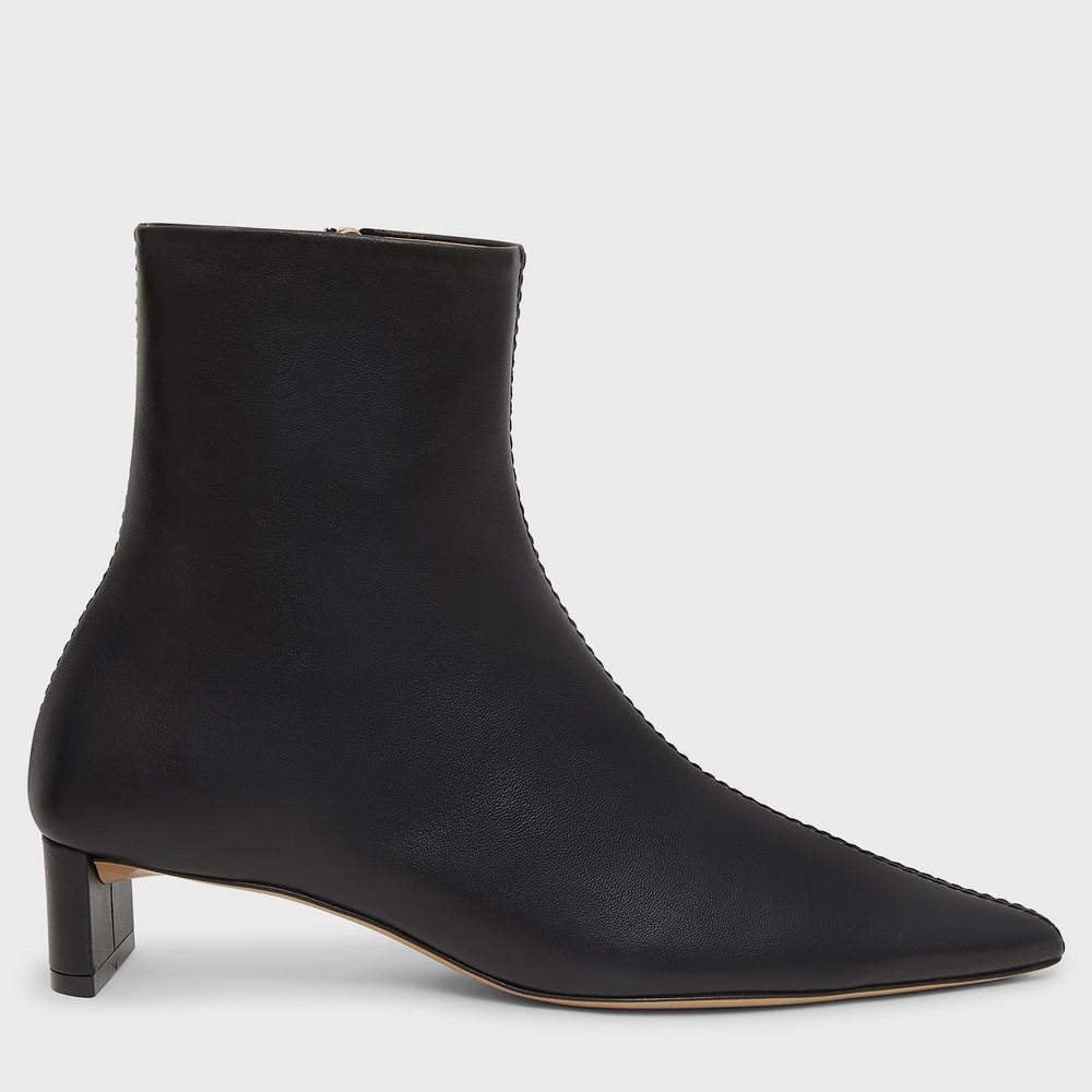 Mansur Gavriel Pointy Boot - Black
