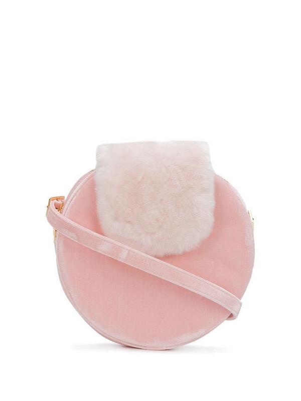 La Seine & Moi Kandy x Louvreuse shoulder bag in pink
