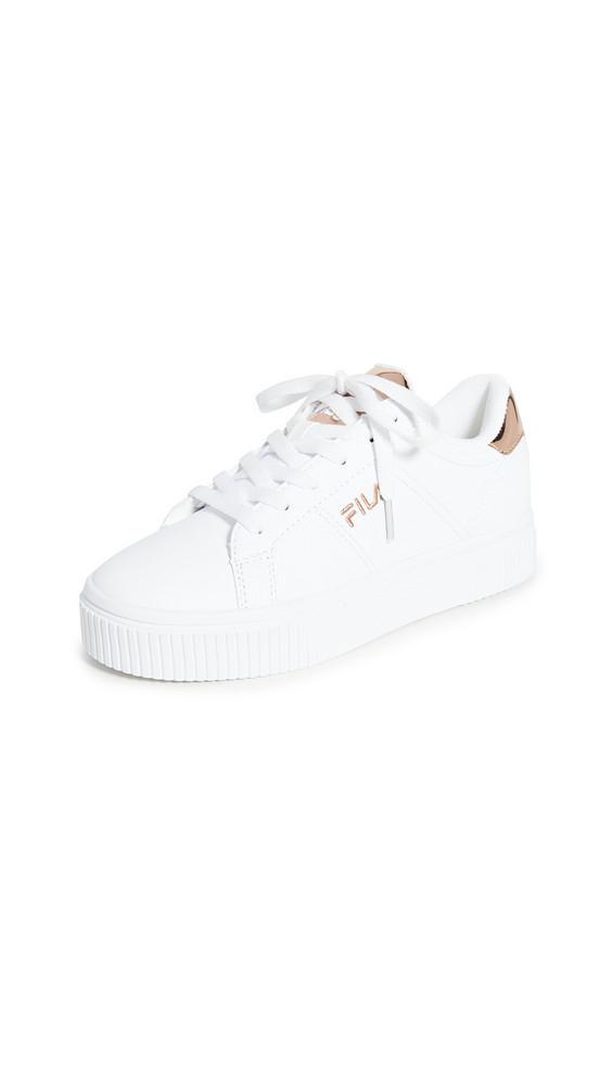 Fila Panache 19 Sneakers in gold / metallic / white