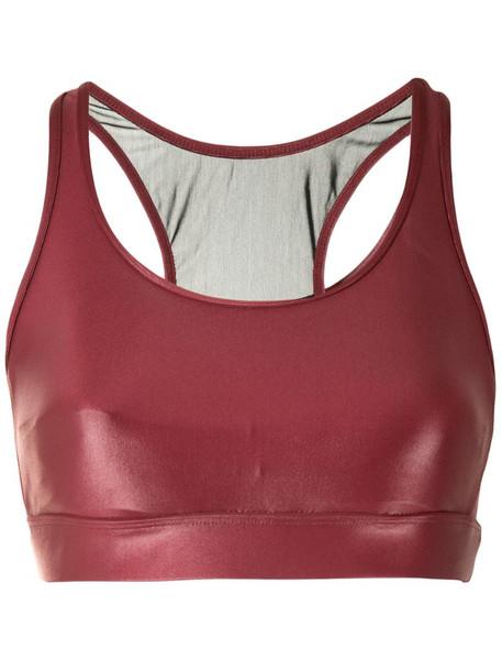 Koral Infinity sports bra in red