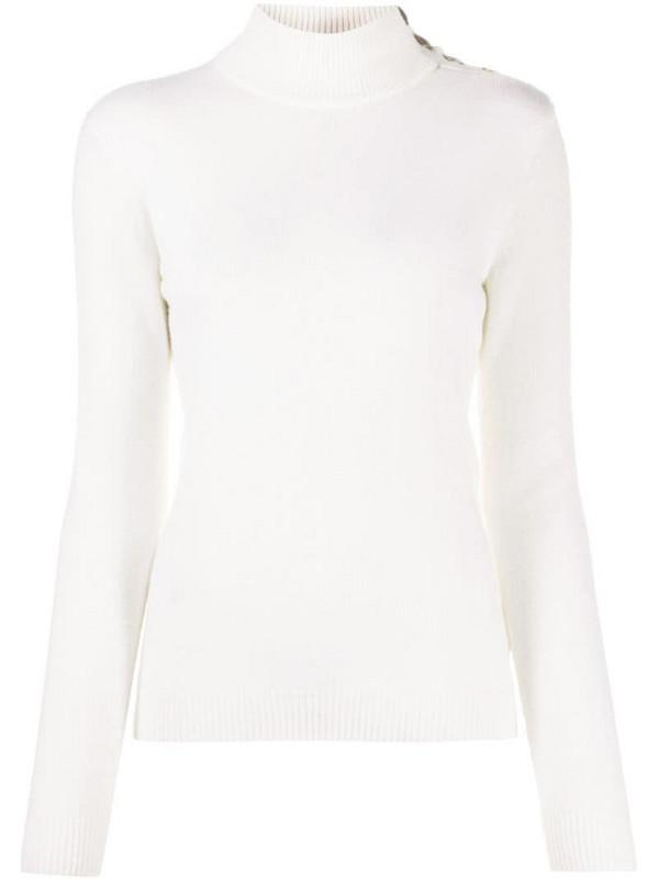 Ralph Lauren Collection cashmere roll neck jumper in white