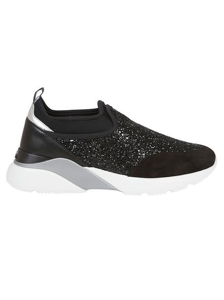 Hogan Black Neoprene Sneakers
