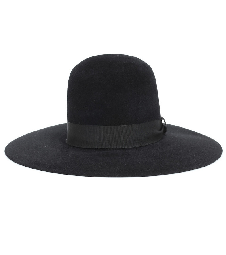 Dolce & Gabbana Felt hat in black