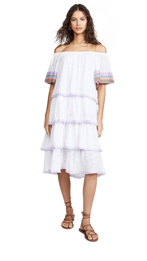 Pitusa Boho Dress in white