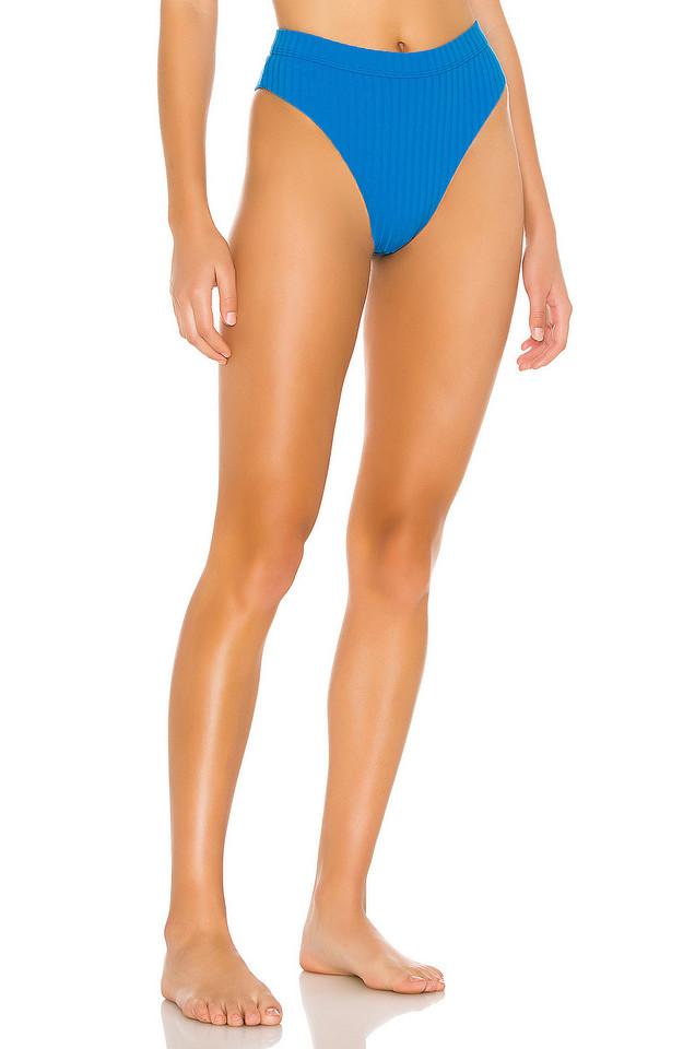 Bond Eye Calvin High Waist Bikini Bottom in teal