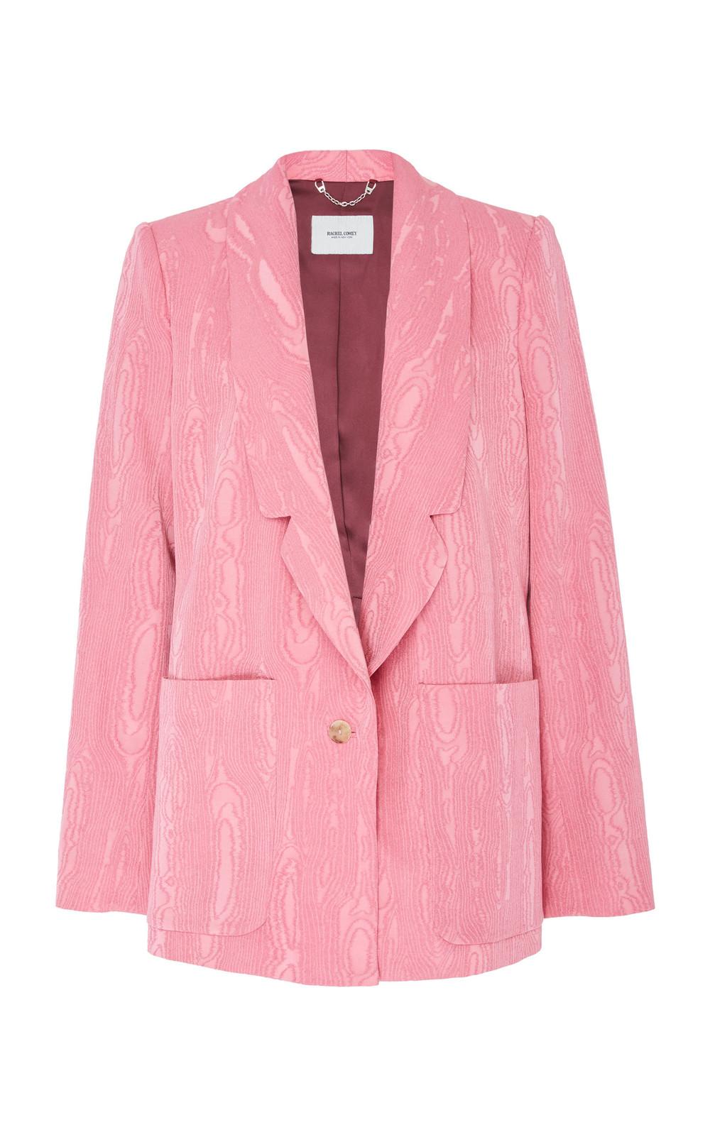 Rachel Comey Lovely Jacquard Blazer in pink