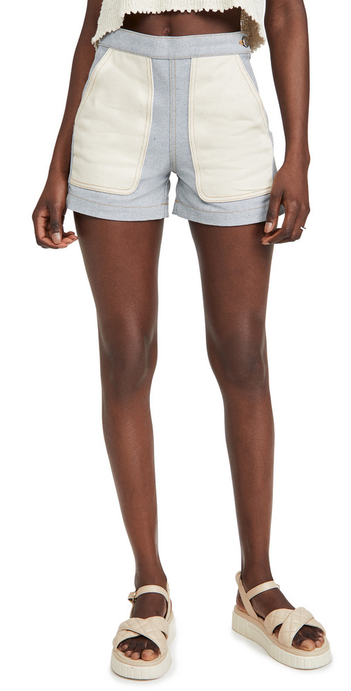 Rachel Comey Handy Shorts in blue