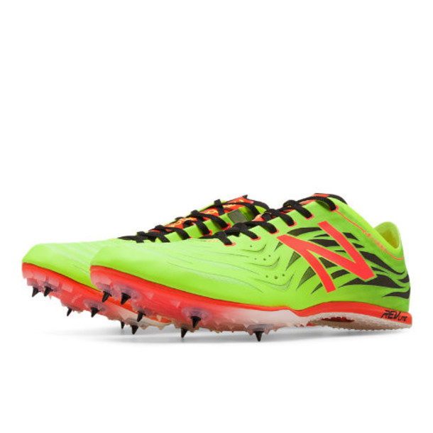 New Balance MD800v4 Spike Men's Track Spikes Shoes - Green/Black/Red (MMD800Y4)