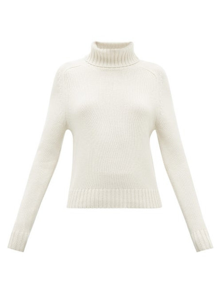 Nili Lotan - Atwood Roll-neck Cashmere Sweater - Womens - Ivory