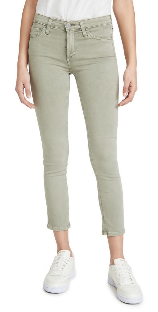 AG Prima Crop Pants in natural