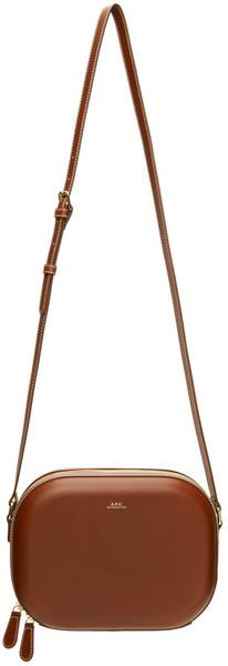 A.P.C. A.P.C. Brown Ambre Camera Bag