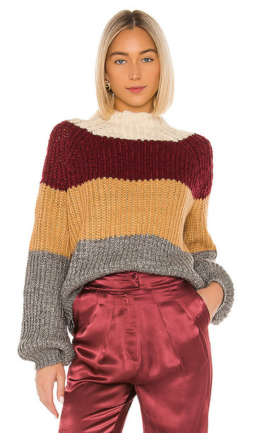 House of Harlow 1960 x REVOLVE Louis Sweater in Wine