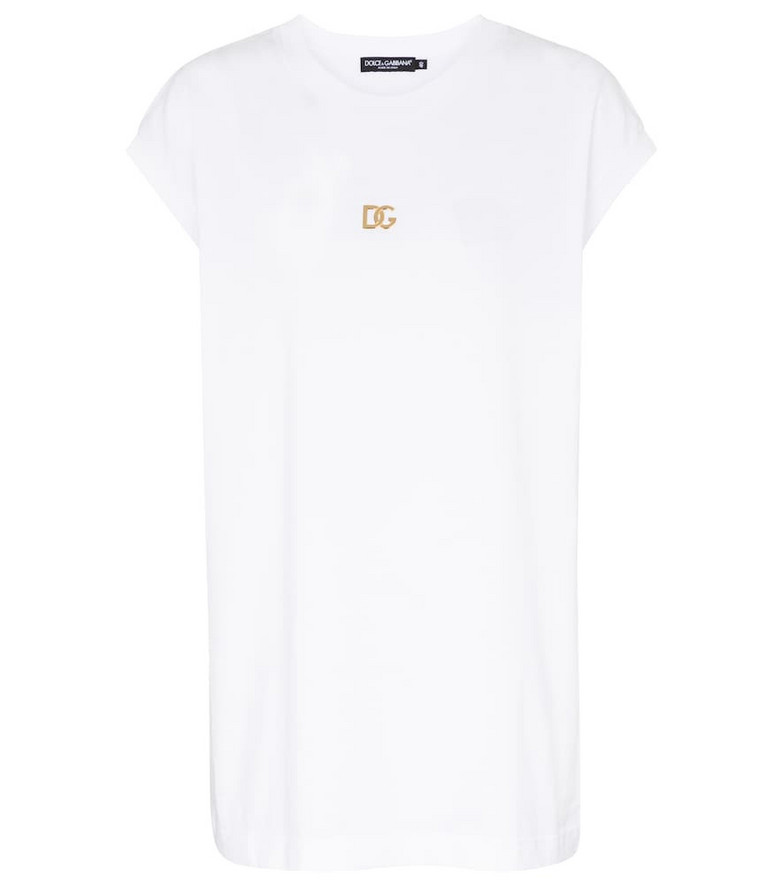 Dolce & Gabbana Cotton jersey T-shirt in white