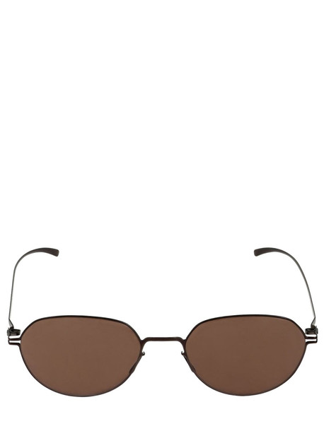 MYKITA Mmesse024 Margiela Round Sunglasses in brown