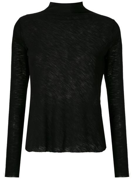 Uma - Raquel Davidowicz Costa high neck blouse in black