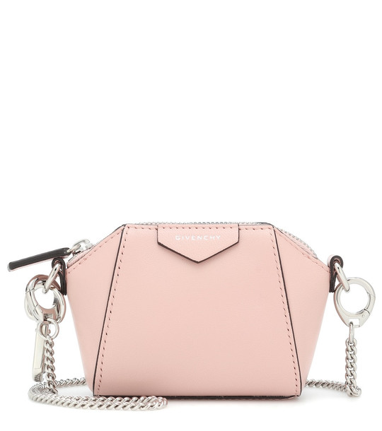 Givenchy Antigona Baby leather crossbody bag in pink