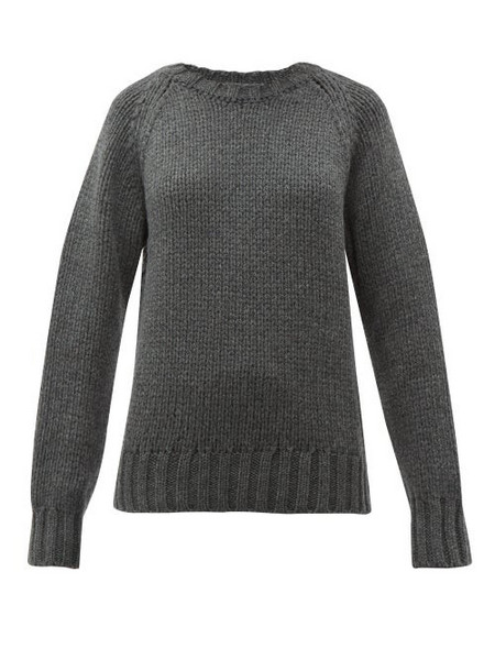 A.P.C. A.p.c. - Ethan Oversized Wool Sweater - Womens - Grey