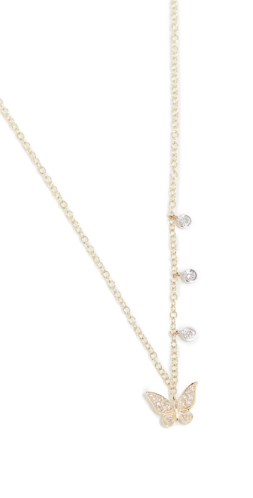 Meira T Butterfly Necklace in gold