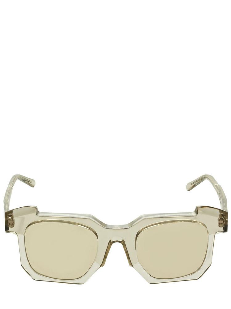 KUBORAUM BERLIN K2 Squared Acetate Sunglasses in brown