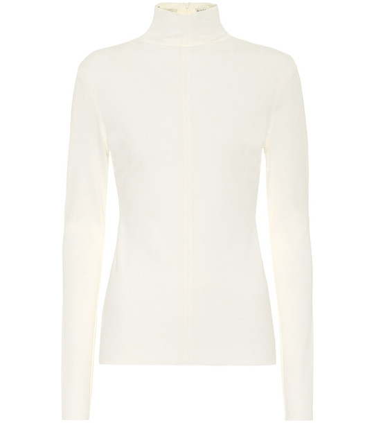 Bottega Veneta Turtleneck sweater in white