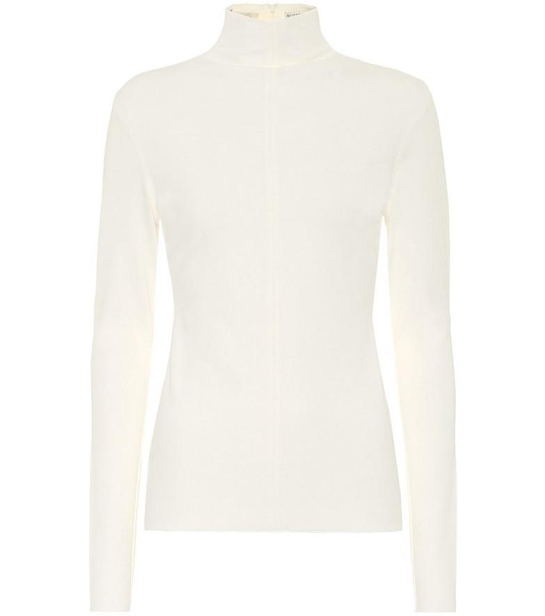 Bottega Veneta Turtleneck sweater in white
