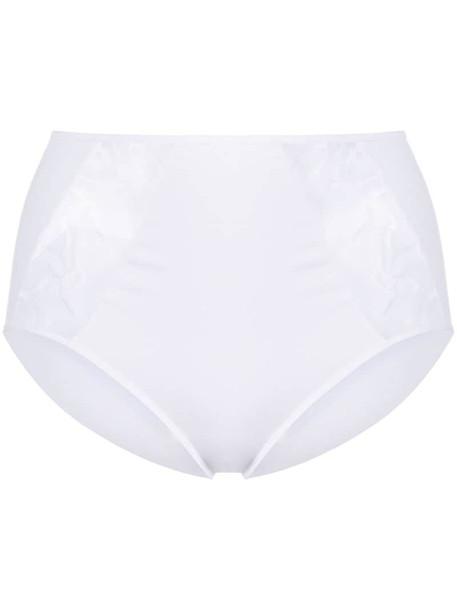 Wacoal Lisse full briefs in white