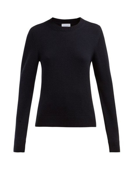 Barrie - Arran Pop Cashmere Blend Sweater - Womens - Black