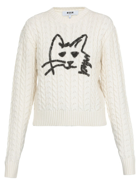 MSGM Sweater With Print