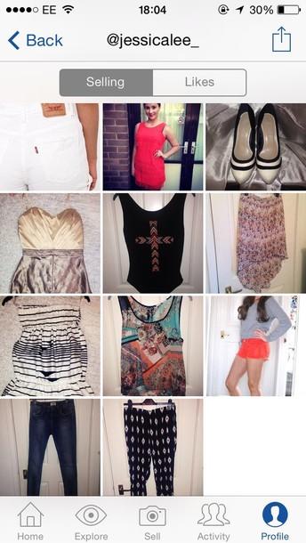 dress lipsy top h&m aztec shoes shorts forever 21 primark orange dress jeans