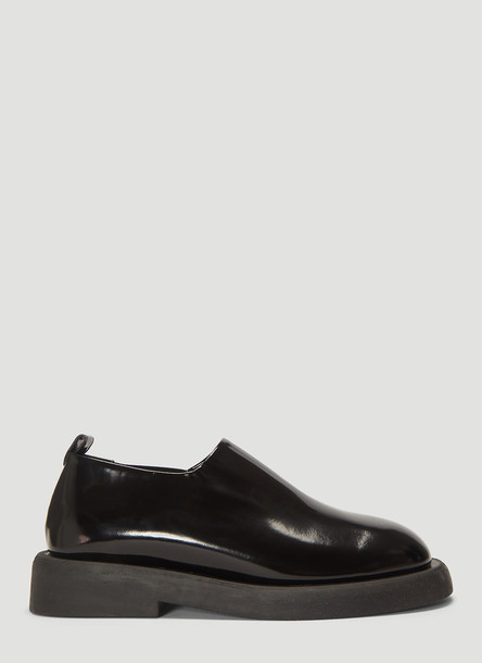 Marsell Gommello Pantofola Shoes in Black size EU - 36.5
