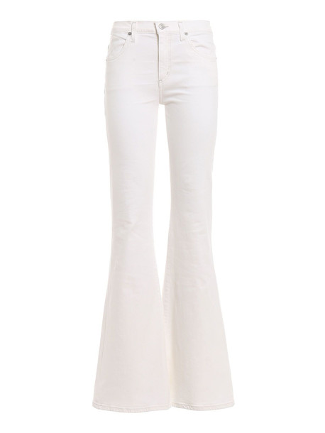 Citizens Of Humanity Chloe Flared Jeans in white