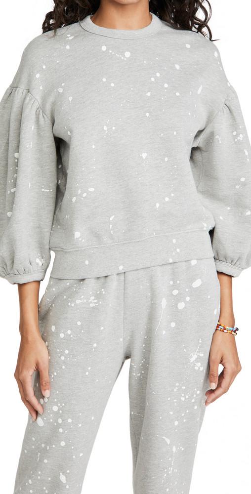 Clare V. Clare V. Drop Shoulder Sweatshirt in grey