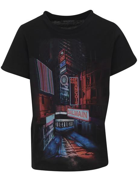 T-shirt Balmain Paris Kids in black