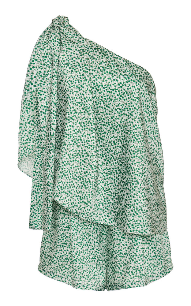 Significant Other Iris Asymmetrical Printed Playsuit Size: 2 in print