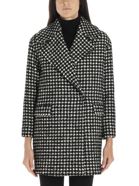 Tagliatore Coat in nero / bianco