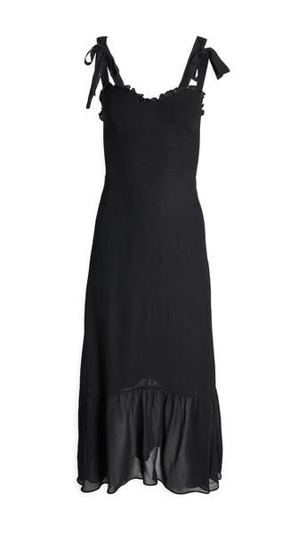 Reformation Nikita Dress in black