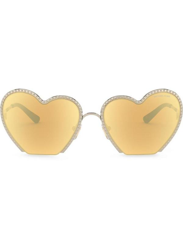 Michael Kors Heart Breaker sunglasses in gold