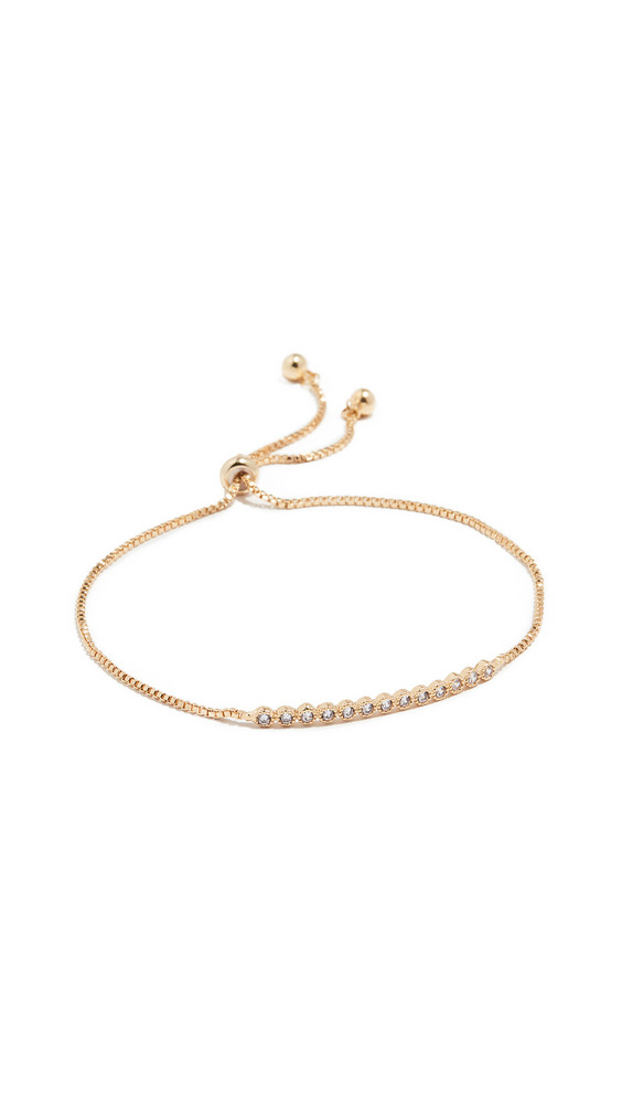 Jules Smith Daisy Chain Bracelet in gold