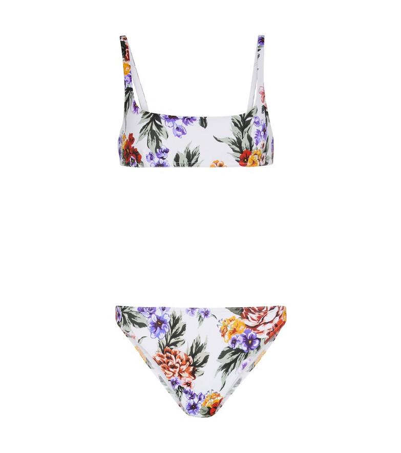 Emilia Wickstead Bea floral bikini