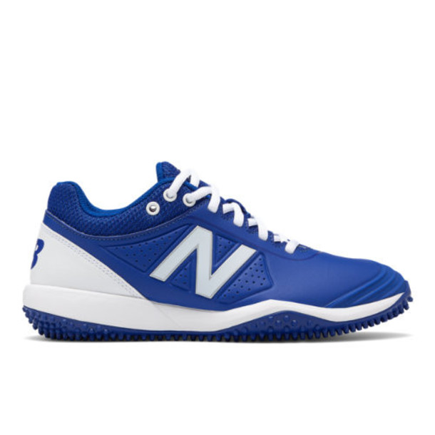 New Balance Fusev2 Turf Women's US Site Exclusions Shoes - Blue/White (STFUSEB2)