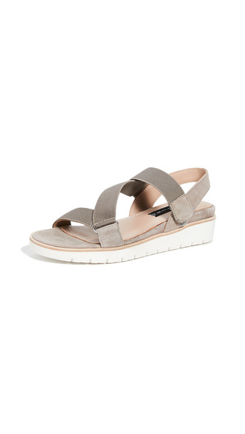 Steven Glyn Strappy Sandals in taupe