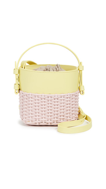 Nico Giani Mini Adenia Bucket Bag in pink
