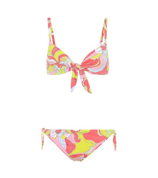 Emilio Pucci Beach Printed bikini