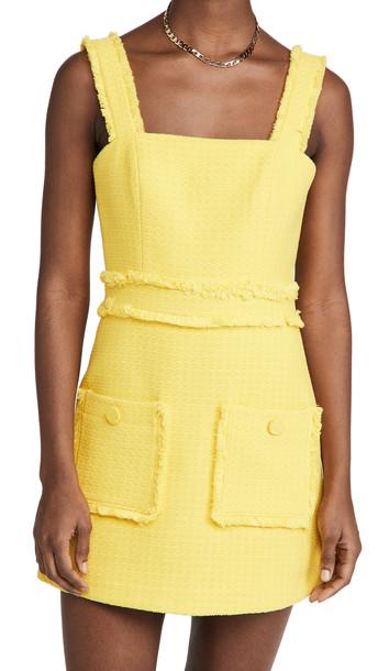 Alexis Jackie Mini Dress in yellow