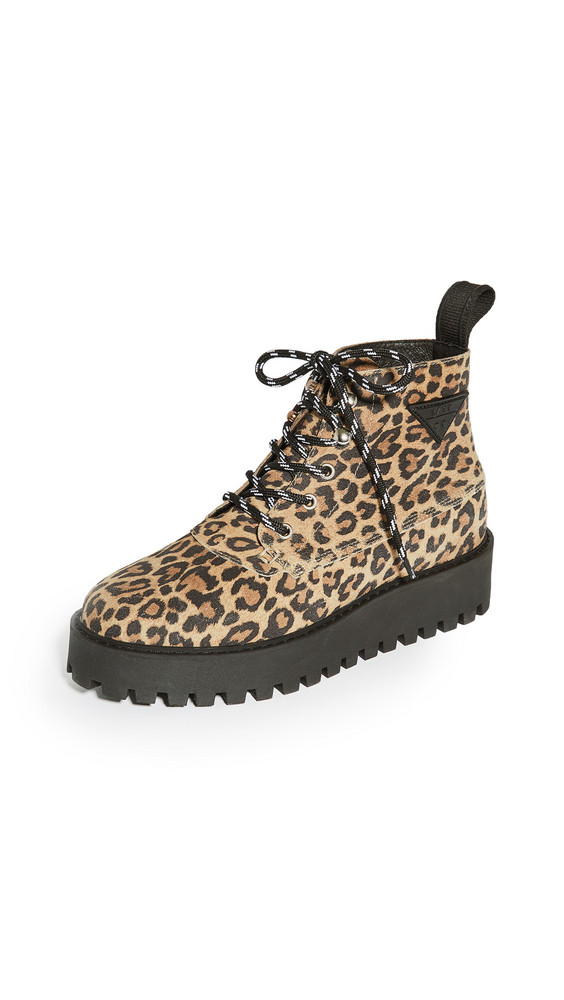 LAST Rocky Boots in leopard