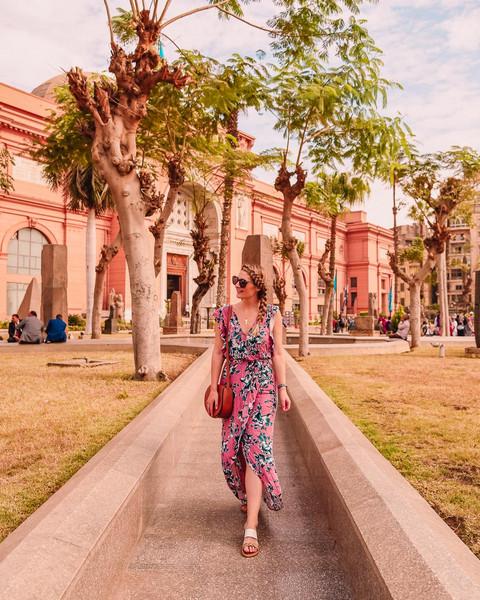 visions of vogue blogger dress shoes bag jewels sunglasses summer dress summer outfits floral dress